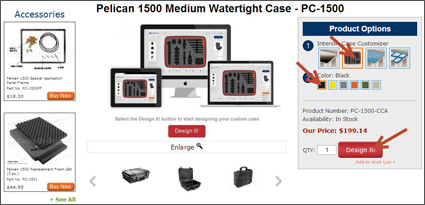 Case Customizer Product Page Selection